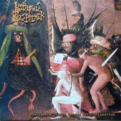 POSHUMOUS BLASPHEMER ''Putrespermfaction Versus Fertiholyzation'' (2004 Russian press, 3 flyers, relic 04/mc 01-2004, mint/mint) (CD)
