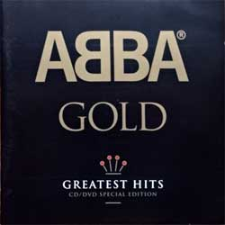 ABBA ''Gold: Greatest Hits (CD/DVD Special Edition)'' (1992 RI 2010 German press, 060252752259, vg/ex+/ex-) (CD+DVD)