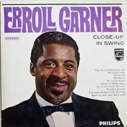 винил LP ERROLL GARNER ''Close-Up In Swing'' (1962 Holland press, 842 910 BY, vg+/ex-)