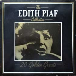 винил LP EDITH PIAF ''The Edith Piaf Collection: 20 Golden Greats'' (1986 Italy press, DVLP 2062, vg+/vg+)