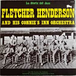 винил LP FLETCHER HENDERSON And His CONNIE'S INN ORCHESTRA ''Fletcher Henderson And His Connie's Inn Orchestra'' (1971 Italy press, SM 3077, ex-/ex-)