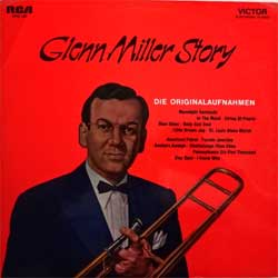 винил LP GLENN MILLER And His Orchestra ''Glenn Miller Story'' (1975 German press, gatefold, laminated, SRS 560, ex/ex)