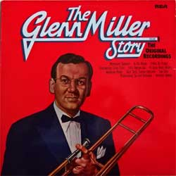 винил LP GLENN MILLER And His Orchestra ''Glenn Miller Story (Volume 1)'' (1975 German press, PXM 1-8026, near mint/ex-)