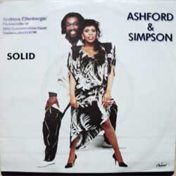 "винил LP ASHFORD & SIMPSON ""Solid - Solid (Dub Version)"" (7""single) (1984 Holland press, ex/ex-)"