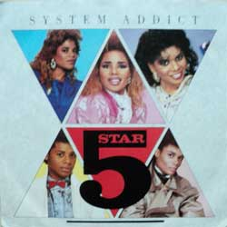 "винил LP 5 STAR ""System Addict - Pure Energy"" (7""single) (1985 German press, ex-/ex)"