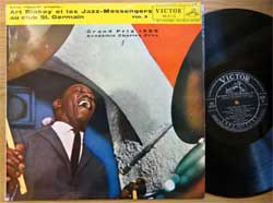 винил LP ART BLAKEY & THE JAZZ MESSENGERS ''Au Club St. Germain Vol.2'' (1959 Japan press, laminated, ortophonic, RA-5119, vg+/ex)