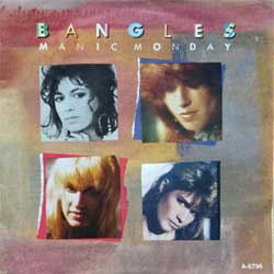 "винил LP BANGLES ""Manic Monday - In A Different Light"" (7""single) (1985 Holland press, vg+/ex)"