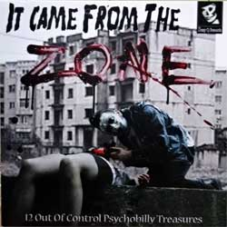винил LP va IT CAME FROM THE ZONE: 12 Out Of Control Psychobilly Treasures (2011 German press, SQ-LP 002, mint/mint, new)