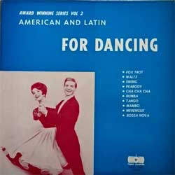 винил LP DANCING STRING & BRASS AND THE LATIN ALL STARS ''American And Latin For Dancing (Swingin' Happy)'' (1972 USA press, RRLPS 1006, vg+/ex-)