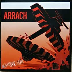 ARRACH ''Sabotage'' (2011 France press, mint/mint, new) (CD)