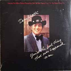 винил LP DEAN MARTIN ''You're The Best Thing That Ever Happened To Me'' (1973 German press, RARE CLUB edition, 63 042, vg+/vg+)