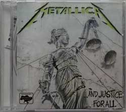 METALLICA ''…And Justice For All'' (1988 RI 2007 Ukrainian RARE press, 836062-9, mint/mint, still sealed!!!) (CD)