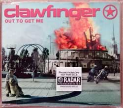 CLAWFINGER ''Out To Get Me'' (3-track MCD) (2001 EU press, promo-sticker, SUPERSONIC 079/74321 87035 2, matrix Sonopress A-55344/4321870352 B, mint/mint) (CD)