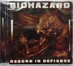 BIOHAZARD ''Reborn In Defiance'' (2012 Soyuz press, new, sealed) (CD)