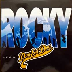 DOG EAT DOG ''Rocky'' (2-track MCD) (1996 EU press, cardboard sleeve, RR 2296-2, matrix SONOPRESS R-5060/RR22962 A, ex+/ex+) (CD)