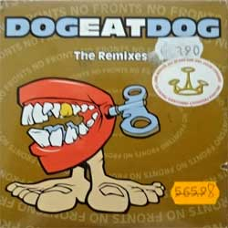 DOG EAT DOG ''No Fronts (The Remixes)'' (2-track MCD) (1995 EU press, cardboard sleeve, RR2331-2, matrix SONOPRESS K-8604/RR23312 B, ex-/ex-) (CD)