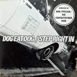 DOG EAT DOG ''Step Right In'' (1997 EU RARE PROMO press, carboard sleeve, insert, RR PROMO 266, matrix SONOPRESS S-8104/RRPROMO266 A, ex/ex+) (CD)