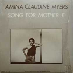 винил LP AMINA CLAUDINE MYERS ''Song For Mother E'' (1980 UK press, LR100, shrink wrap, mint/mint)