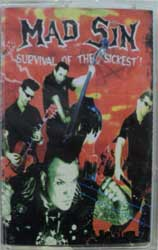 аудиокассета MAD SIN ''Survival Of The Sickest'' (2004 Taiga Sounds press, sealed)(MC111)