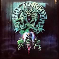ALMIGHTY ''Soul Destruction'' (1991 USA press, 847 961-2, matrix 847 961-2 01@ MADE IN USA, saw-cut, mint/mint) (CD)