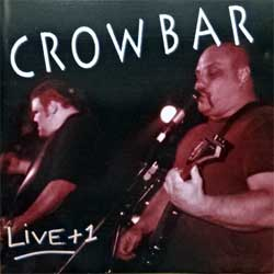 CROWBAR ''Live+1'' (1994 German press, IRS CD 981.204, matrix 981.204 P+O-20452-A1 03-94, vg+/near mint) (CD)