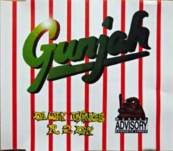 GUNJAH ''Da Way Things R 2 Day'' (4-track MCD) (1995 German press, N 0255-3, matrix BOD MOD  N 0255-3, ex/mint) (CD)