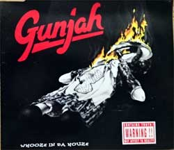 GUNJAH ''Whooze In Da Houze'' (4-track MCD) (1994 German press, N 0241-3, matrix BOD MOD  N 0241-3, vg+/mint) (CD)