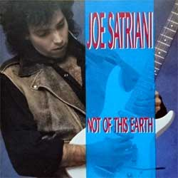 JOE SATRIANI ''Not On This Earth'' (1988 Austria press, REL 4629722, matrix DADC Austria  02-462972-10 11 B4, mint/mint) (CD)