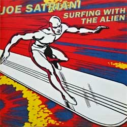 JOE SATRIANI ''Surfing With The Alien'' (1987 France press, CDGRUB 8, matrix GRUB CD 8 MPO 04 @@@, mint/mint) (CD)