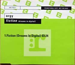 ORGY ''Fiction (Dreams In Digital)'' (2001 German RARE PROMO press, PR02438/9362-47832-2, matrix PR02438, ex-/mint) (CD)