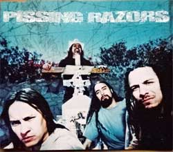 PISSING RAZORS ''Pissing Razors'' (3-track MCD) (2000 German RARE PROMO press, N 0336-0, matrix N 03360 MPO 01 @@@ 4 01, ex-/mint) (CD)