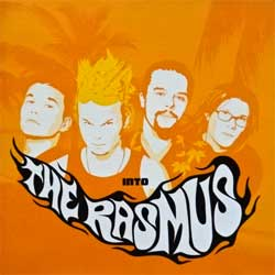 RASMUS ''Into'' (2001 EU press, PGMCD 2, matrix A144997-01 manufactured by optimal media production, vg+/mint) (CD)