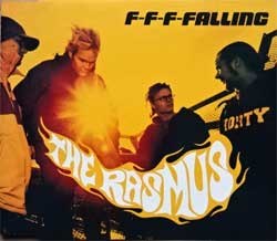 RASMUS ''F-f-f-falling'' (3-track MCD) (2001 German press, 0117745ERE, matrix A151956-01 manufactured by optimal media production, near mint/mint) (CD)