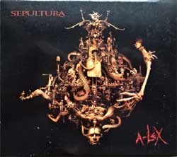 SEPULTURA ''A-Lex'' (2009 German press, SPV 306350 CD, matrix 53373221/306352 21, ex/mint/vg+) (digipak) (CD)