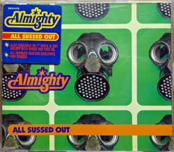 ALMIGHTY ''All Sussed Out'' (3-track MCD) (1996 UK press, original sticker, postcard, 8826432, matrix 882643.1:1:1.EMI SWINDON, ex/mint) (CD)