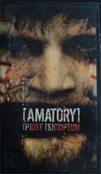 видеокассета AMATORY ''[P]ost [S]criptum'' (2005 Кап-Кан Records press, mint, sealed)