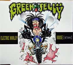 GREEN JELLY ''Electric Harley House (Of Love)'' (3-track MCD) (1993 German press, 74321164842, matrix Sonopress H-2528/43211 64842 A 3, ex/mint) (CD)