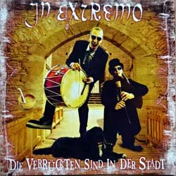 IN EXTREMO ''Die Verruckten Sind In Der Stadt'' (1998 German press, 03210-2, matrix DOCdata Germany VIEL 03210, near mint/mint) (CD)