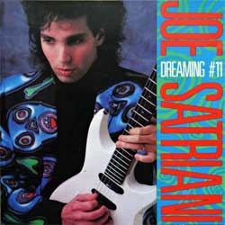 JOE SATRIANI ''Dreaming #11'' (1988 France press, 4 tracks, CD12YUM114, matrix CD 12 YUM 114 MPO 01 @, near mint/near mint) (CD)