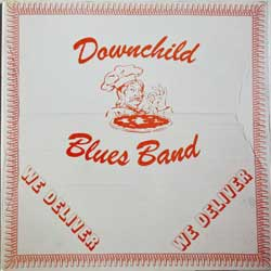 винил LP DOWNCHILD BLUES BAND ''We Deliver'' (1980 German press, gatefold, laminated, 6.24409 AP, ex-/ex)