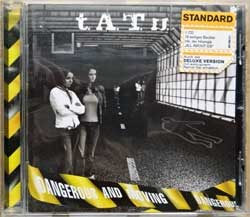 T.A.T.U. ''Dangerous And Moving'' (2005 German press, 2 original stickers, bonus-track, 0602498851036, matrix 4xUniversal 06024 988 510-3 01*51650141 E Made in Germany by EDC, e/mint) (CD)
