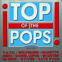 T.A.T.U. (va TOP OF THE POPS 2003_1) (2003 German press, 068648-2, matrixes Universal M&L, vg+/ex+/mint) (2xCD)