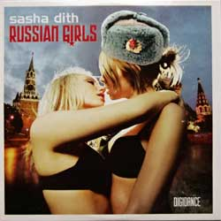 SASHA DITH ''Russian Girls'' (2005 Holland press, 5 tracks, cardboard sleeve, 8714866659-3, matrix DOCdata DISA87148666593, mint/mint) (CD)