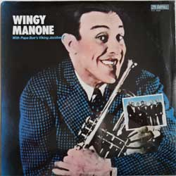 винил LP WINGY MANONE With PAPA BUE'S VIKING JAZZBAND ''Wingy Manone With Papa Bue's Viking Jazzband'' (1983 USA press, SLP-4066, mint/mint, still sealed!!!)