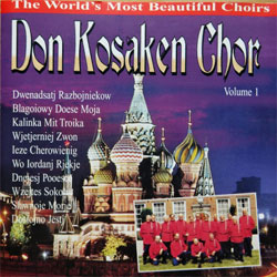 DON KOSAKEN CHOR ''The World's Most Beautiful Choirs Volume 1'' (1995 Holland RARE press, 90.800-2, matrix 03 908002, ex-/mint) (CD)