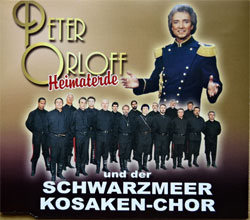 SCHWARZMEER KOSAKEN-CHOR und PETER ORLOFF ''Heimaterde'' (2-track MCD) (2001 German RARE press, M-CD 872966-2, matrix 872996-2 P+O-5439-01 10-01, ex+/mint) (CD)
