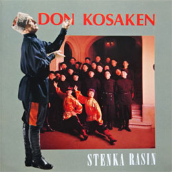 DON KOSAKEN ''Stenka Rasin'' (1980's German press, 835 519-2, matrix 835 519-2 01# made in Germany, ex+/mint)(CD)
