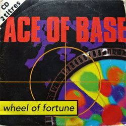 ACE OF BASE ''Wheel Of Fortune'' (2-track MCD) (1993 German press, cardboard sleeve, 861 544-2, matrix 861 544-2 00-L7 1F, vg/vg+) (CD)