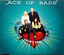ACE OF BASE ''Lucky Love'' (3-track MCD) (1995 German press, 577 247-2, matrix 01+ Made in Germany by PMDC, ex-/mint) (CD)