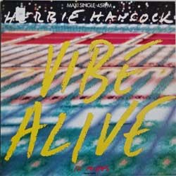 винил LP HERBIE HANCOCK ''Vibe Alive'' (3-track 12'') (1988 Holland press, 651432 6, ex/ex)